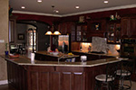 Luxury House Plan Kitchen Photo 01 - 067S-0004 | House Plans and More