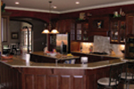 European House Plan Kitchen Photo 01 - 067S-0005 | House Plans and More