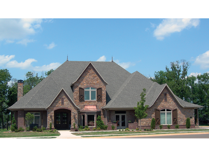 European House Plan Front of Home 067S-0006