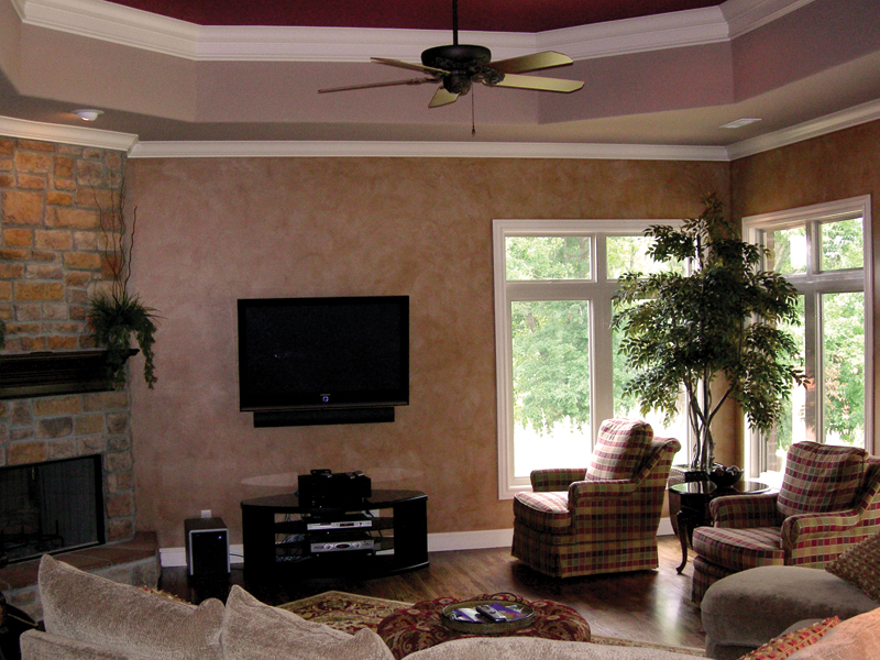 European House Plan Living Room Photo 01 067S-0006