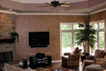 European House Plan Living Room Photo 01 - 067S-0006 | House Plans and More