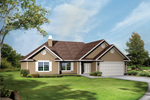Traditional Ranch Home With Siding Exterior
