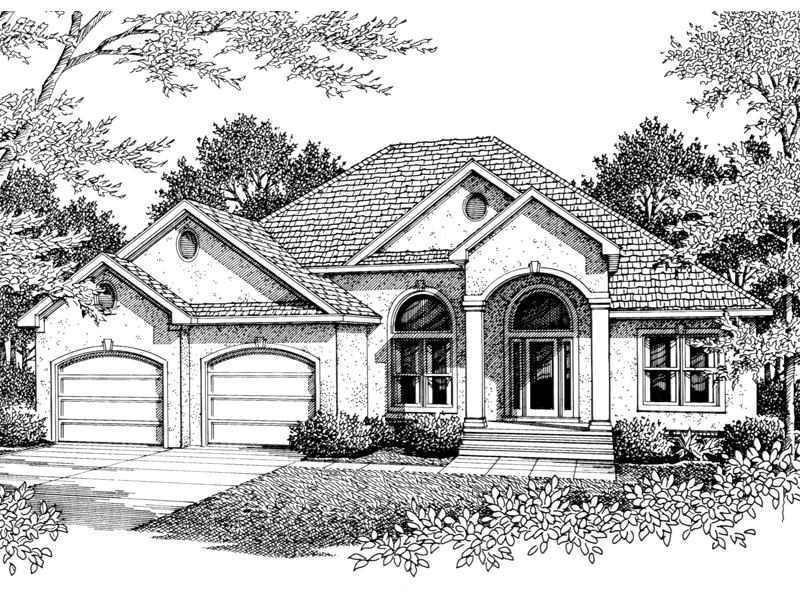 Santa bella sunbelt home plan 069d 0094 house plans and more for Sunbelt homes