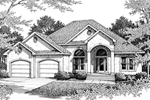 Stucco Style Home Is Elegant For Sunbelt Region
