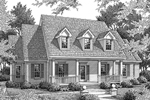 Country And Cape Cod Styles Combine To Create This House