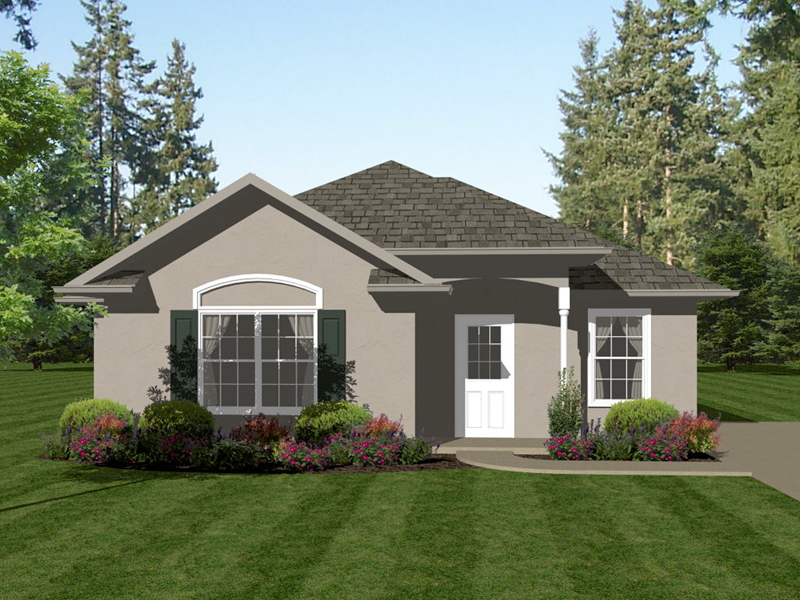 Ranch House Plan Front of Home - 069D-0109 | House Plans and More