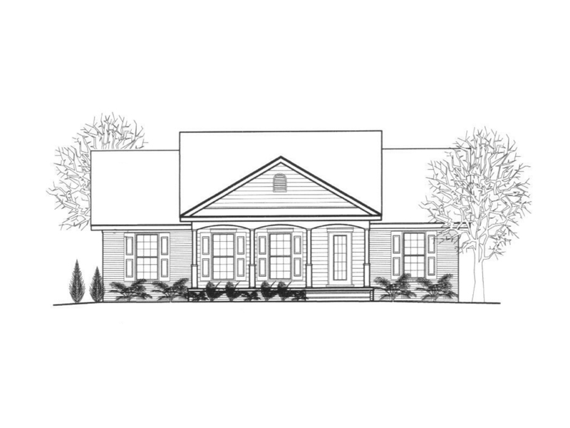 Traditional House Plan Front of Home - 069D-0112 | House Plans and More
