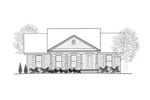 Ranch House Plan Front of Home - 069D-0112 | House Plans and More