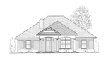 Traditional House Plan Front of Home - 069D-0114 | House Plans and More
