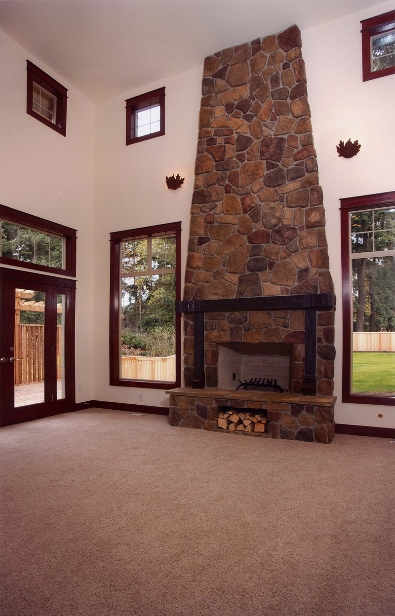 Arts and Crafts House Plan Fireplace Photo 01 071D-0003