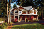 Arts & Crafts House Plan Front Photo 01 - 071D-0003 | House Plans and More