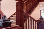 Arts and Crafts House Plan Stairs Photo - 071D-0003 | House Plans and More