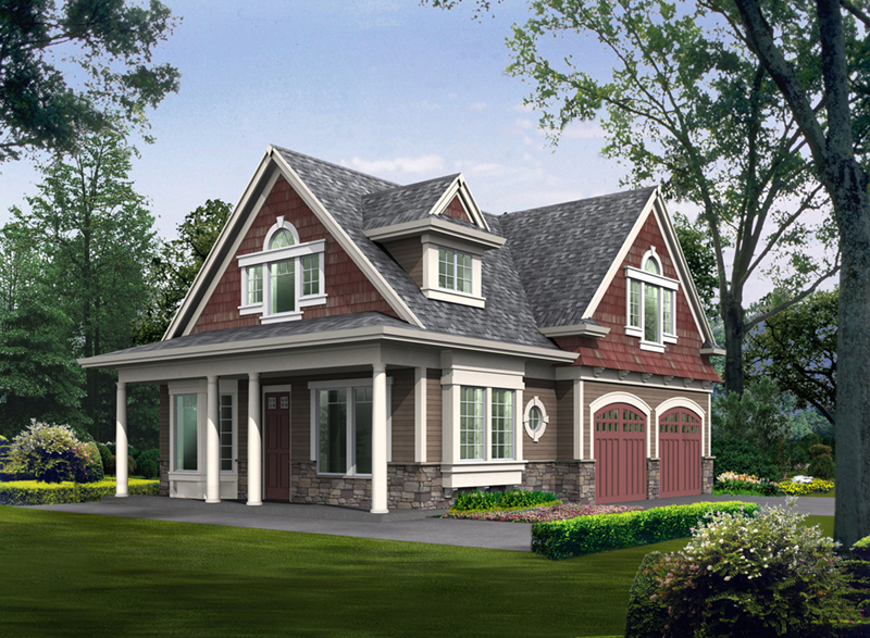 Traditional House Plan Front Image - 071D-0012 | House Plans and More