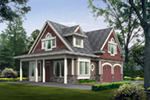 Arts & Crafts House Plan Front Image - 071D-0012 | House Plans and More