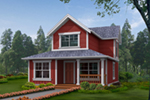 Traditional House Plan Front Image - 071D-0013 | House Plans and More