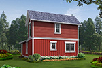 Traditional House Plan Color Image of House - 071D-0013 | House Plans and More