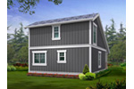 Traditional House Plan Rear Photo 01 - 071D-0013 | House Plans and More