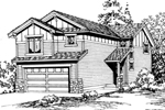 Craftsman Narrow Lot
