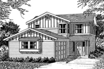 Traditional, Craftsman Influenced Design