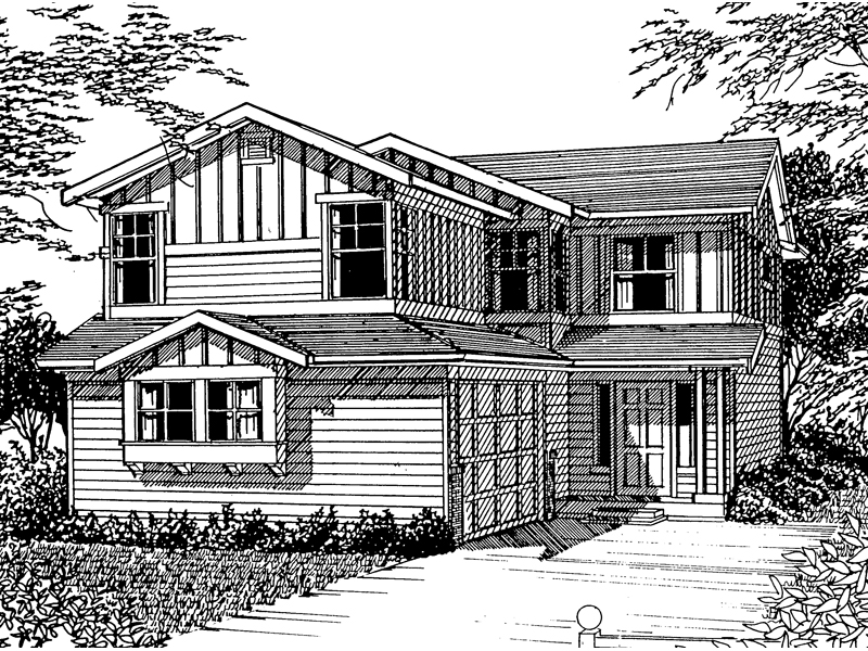 Southern House Plan Front Image of House - 071D-0037 | House Plans and More
