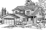 Traditional, Craftsman Styled Design