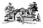 Southern House Plan Front Image of House - 071D-0040 | House Plans and More