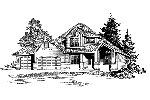English Cottage House Plan Front Image of House - 071D-0044 | House Plans and More