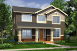 Craftsman Inspired Home Has Mixed Siding Styles