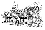 Country House Plan Front Image of House - 071D-0061 | House Plans and More