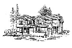 Country House Plan Front Image of House - 071D-0064 | House Plans and More