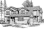 Tudor And Craftsman Styles Combine For A Unique House