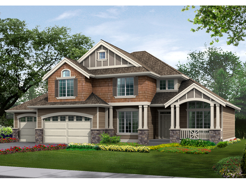 Scotland Crest Tudor Style Home Plan 071d 0066 House