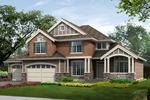 Craftsman Home With Tudor Accents
