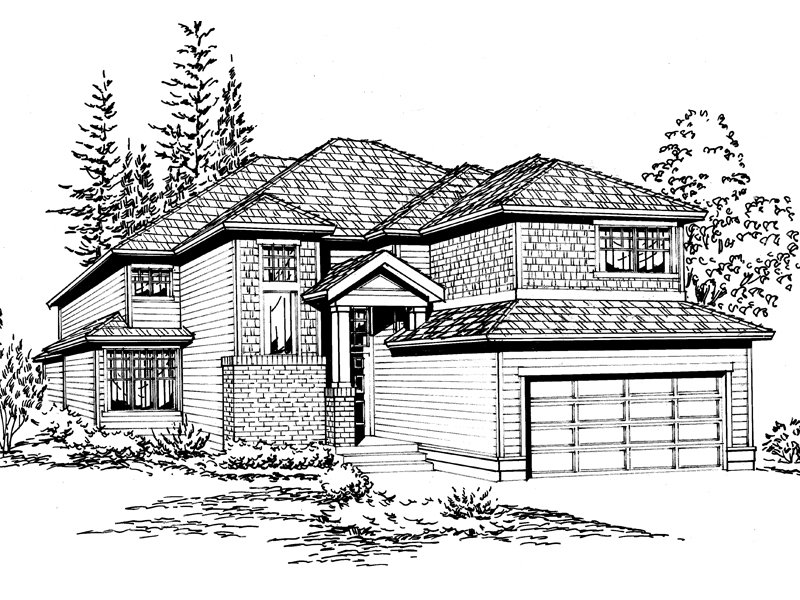 Simplistic Craftsman Designed Home