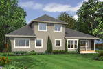 Arts and Crafts House Plan Color Image of House - 071D-0072 | House Plans and More