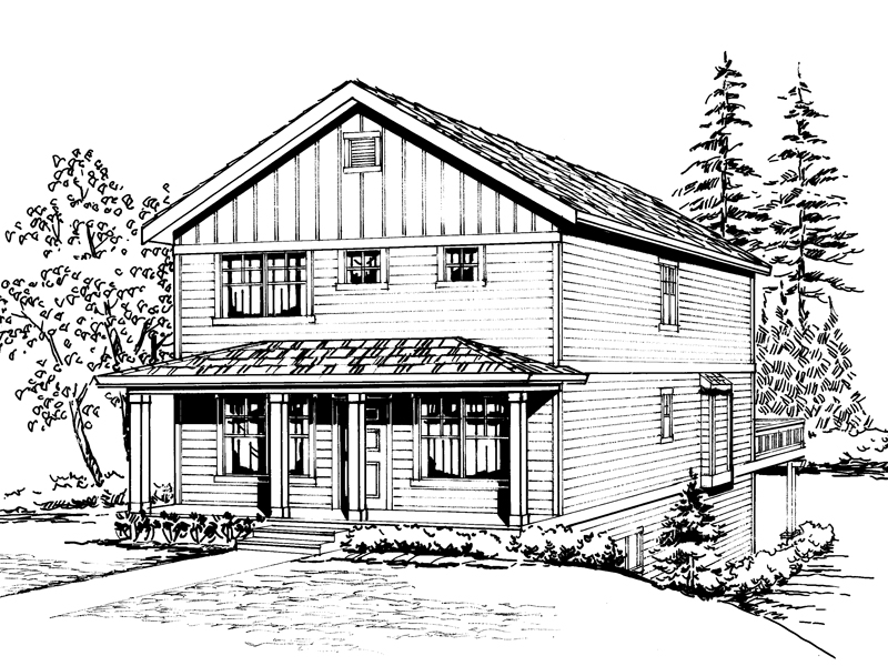 Farmhouse Home With Craftsman Flair