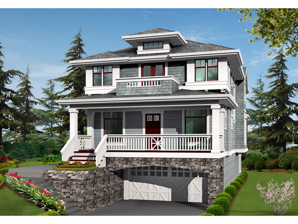 House Plans And Design House Plans Two Story With Balcony: two story house plans with balcony