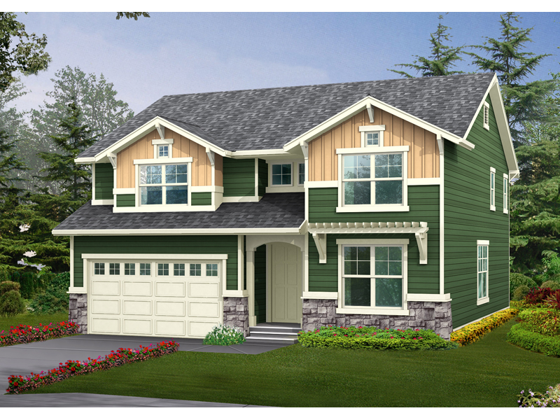 Craftsman Two-Story Home Loaded With Character