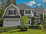 Single Siding And A Corner Turret Give This Home Great Curb Appeal