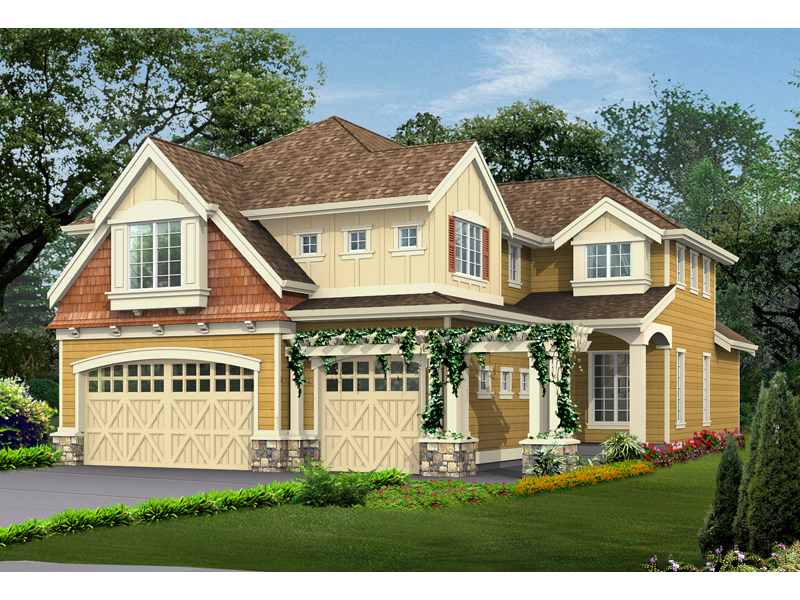 Amazing House With Craftsman Style Charm