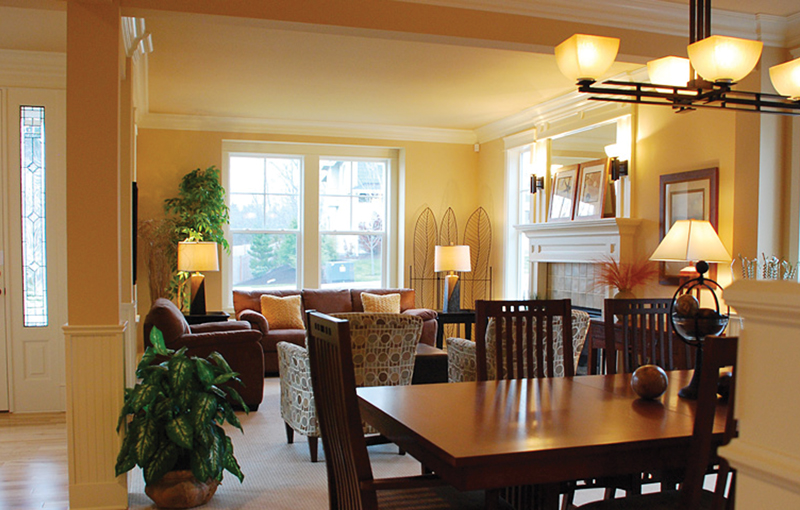 Country House Plan Dining Room Photo 02 071D-0107