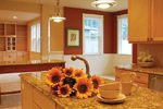 Shingle House Plan Kitchen Photo 02 - 071D-0107 | House Plans and More