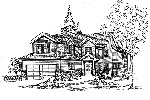 Traditional House Plan Front Image of House - 071D-0114 | House Plans and More