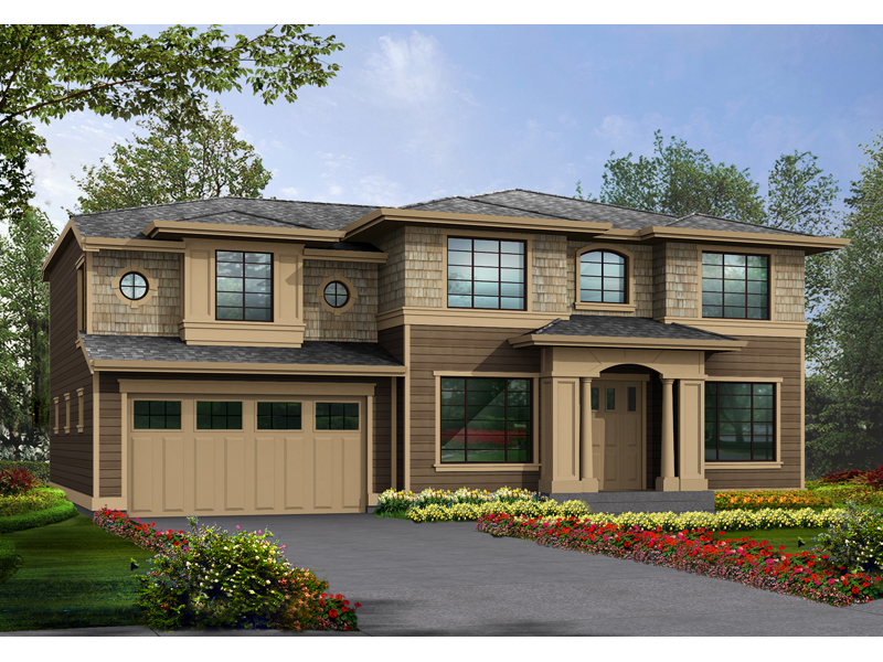 Rustic Craftsman Flavor To This Home Plan