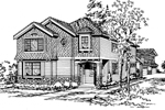 Craftsman House Plan Front Image of House - 071D-0121 | House Plans and More