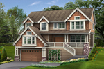 Craftsman House Design Has Stylish Curb Appeal
