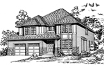 Luxurious Craftsman Home With Bay Window