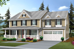 Colonial Home With Luxurious Amenities