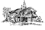 Traditional House Plan Front Image of House - 071D-0143 | House Plans and More