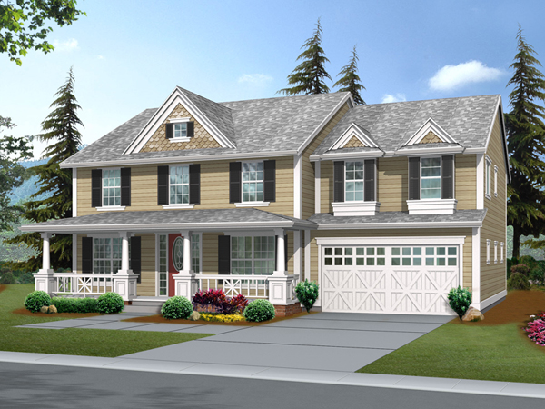 Suson oak colonial home plan 071d 0148 house plans and more for Colonial home designs